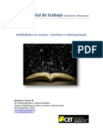 Material de trabajo Habilidades CET 2014 II semestral 18 sesiones
