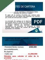 AJUSTES DE CARTERA E INVENTARIO