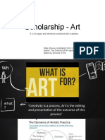 -Scholarship - Art.pptx