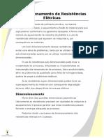 Dimensionamento de Resistências Elétricas.pdf