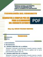 CLASE 2 - AGREGADOS-REQUISITOS OBLIGATORIOS