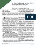 mendez1992_Scoring Criteria for the Clock Drawin Test Alzheimer