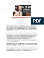 2003.12.23 - Hegemony or Survival - Interview of Noam Chomsky by Guerrilla News