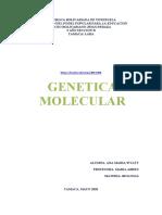 GENETICA MOLECULAR. ANA WYATT 5 B