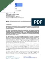 Bolivar- Respuesta mininterior para sesionar No presencial