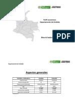 Perfil Económico - Departamento de Córdoba