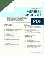Atlas d'Anatomie - Membre Supérieur