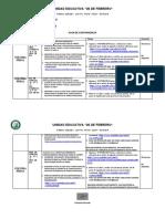 Plan de Contingencia Para Bachillerato 2DA. SEMANA