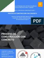 CONSTRCCIÓN CON CONCRETO