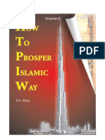 How to Prosper the Islamic Way (Vol.-2)