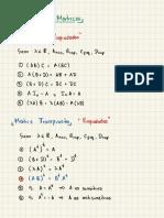 3 Álgebra de Matrices