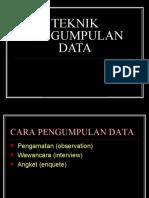 13. TEKNIK PENGUMPULAN DATA.ppt