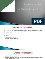 prog c - les chaines de caractères.pdf