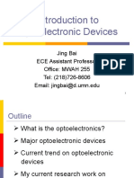 Introduction to Op to Electronics