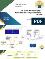 08. Le plan de leçon (3) - Activités de compréhension CE-CO