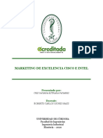 MARKETING DE EXCELENCIA CISCO E INTEL (1)