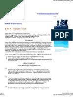 Peraturan Permainan Catur Berdasarkan FIDE