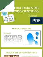 GENERALIDADES DEL METODO CIENTIFICO (1)