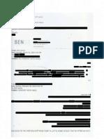 E-Mail Provided by Ben Birnbaum Connecting Washington Times to Tel-Aviv Document Heist