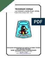 COVER dan PROGRAM KERJA PPDB 2020