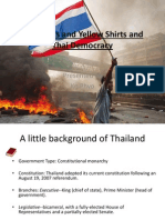 Color Politics of Thailand and the Future of Thai Democracy