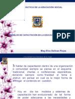 SESIÓN 15  PLENARIO SOBRE MODELOS DE CAPACITACIÓN EN LA EDUCACIÓN SOCIAL