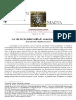 J. Pérez-Soba, La vía de la interioridad