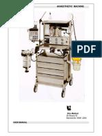 Ulco Elite 615 Anaesthetic Machine - User manual