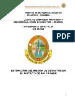 INFORME DE ESTIMACIÓN DE RIESGO EN EL AA