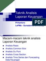 Teknik Analisis Laporan Keuangan