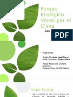 parque ecológico -voces por el clima
