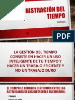 5 ADMIISTRACIÓN DEL TIEMPO
