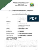 ACTA DE REINICIO N 02 - 2019