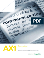AX1  Terminology