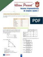 T_4°año_S6_Razones  trigonométricas de ángulos agudos I