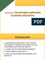 Nuevas Tecnologias en El Ambito Educativo
