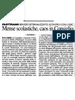 20101231 RC - Mense Scolastiche Caos in Consiglio
