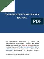 7. Comunidades campesinas
