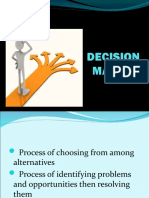 Decision Making Types Ppt