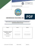 """DIRECTIVA """"APLICACIÓN DEL TRABAJO REMOTO DE LOS DOCENTES EN LA UNIVERSIDAD NACIONAL DEL CALLAO"""", .pdf"""