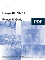 ImageRUNNER 5020_6020 Series Remote UI Guide