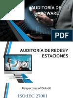 Auditoria de  redes informaticas