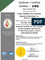 magnetrol_706_sil_cert