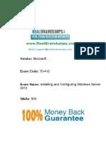 Pass4sure_Exam_70-410_Realbraindumps