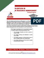 Specialization In Brochure]