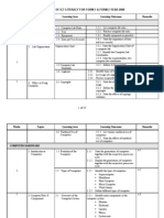 Year Plan ICTL 2008