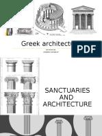 Greek architecture report