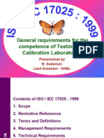 ISO 17025 Presentation