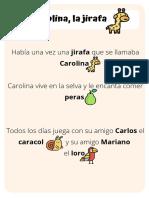 CAROLINA LA JIRAFA.pdf