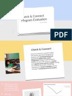 check   connect program evaluation